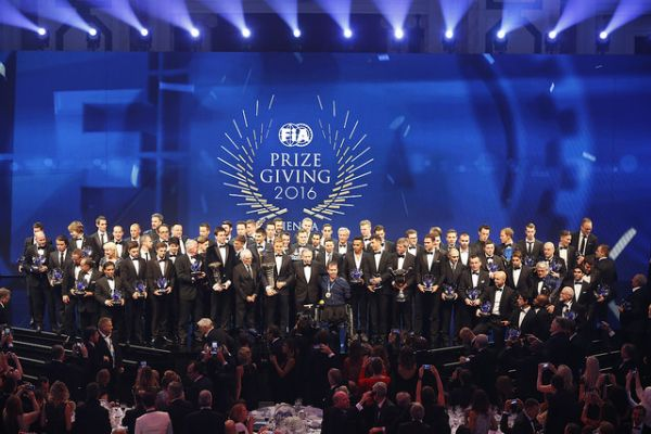 Motor sport champions of 2016 honoured in Vienna