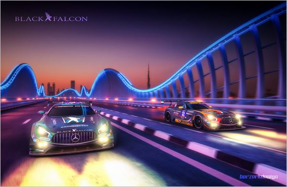 Black Falcon Team Dubai 24 Hours preview