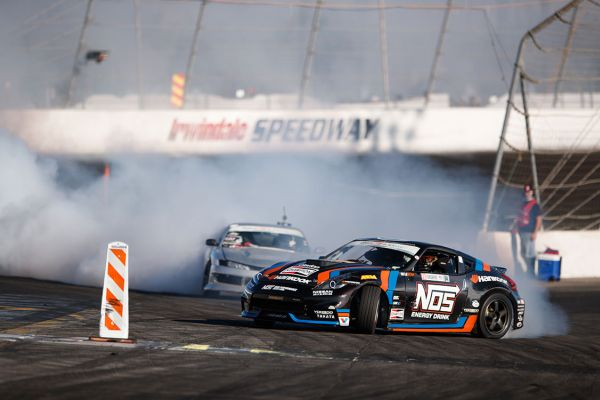 Formula DRIFT Signs NOS Energy Drink as Official Energy Drink