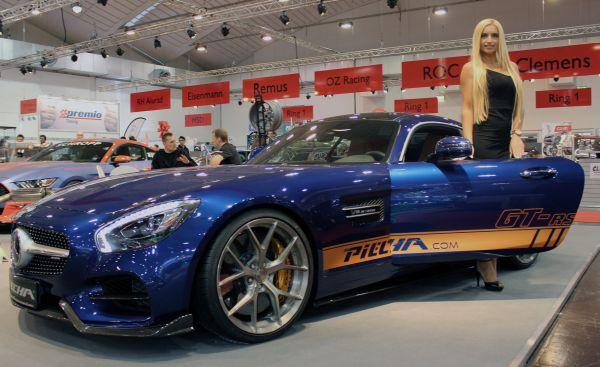 """PIECHA AMG GT-RSR """"rockte"""" Die Essen Motor Show"""