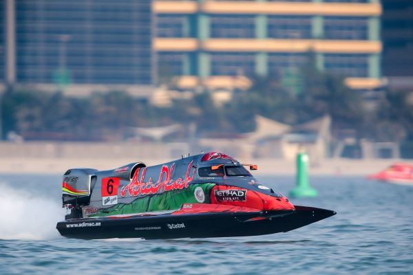 Team Abu Dhabi's Carella somersaults out of qualifying as Andersson claims pole