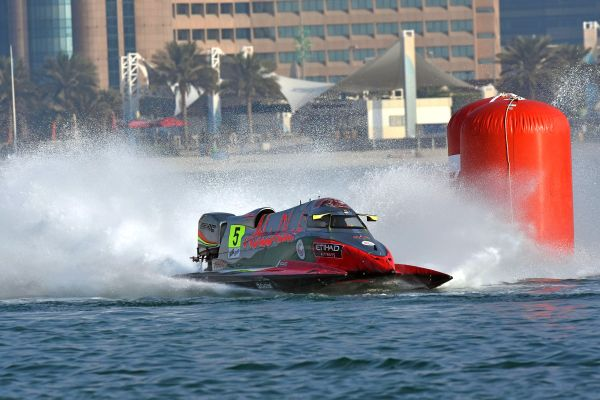 F1H2O Grand Prix of Abu Dhabi Thursday results and standings
