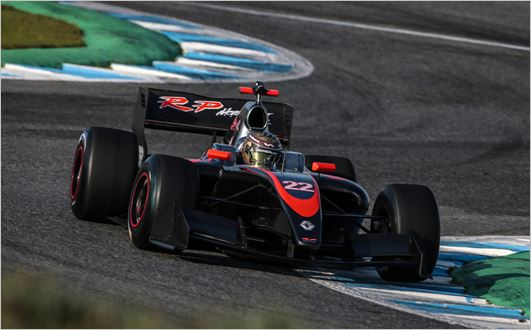 First preseason tests for Facu Regalia in Formula V8 3.5 come to an end
