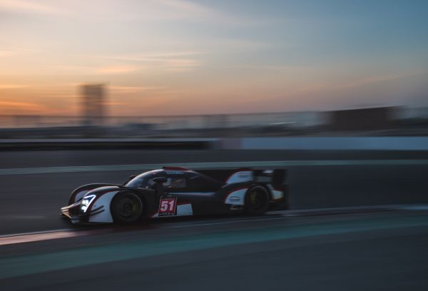 Double Prototype Podium for Century Motorsport in Dubai