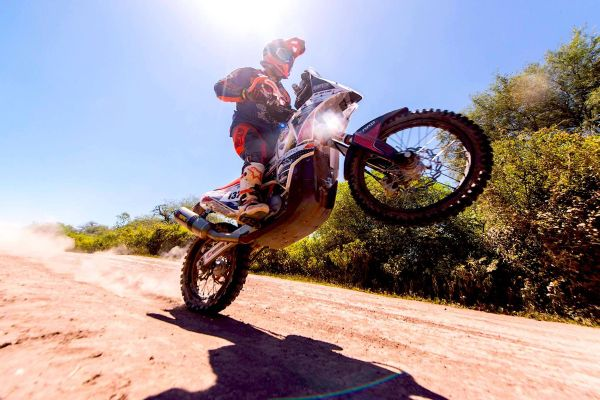 Joey Evans, the real Dakar Superhero