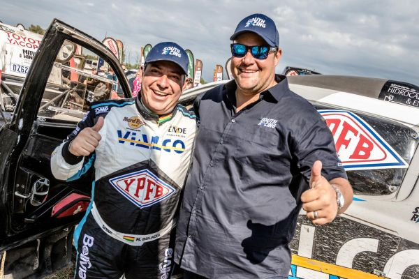 Marco Bulacia guides his South Racing Ford Ranger to top 20 finish