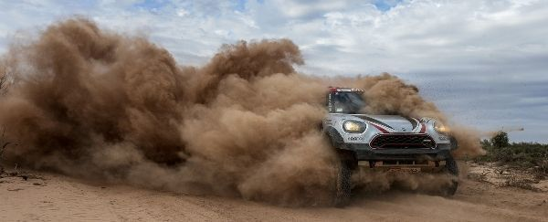 3rd place stage finish for Mini's Terranova in Dakar stage 11