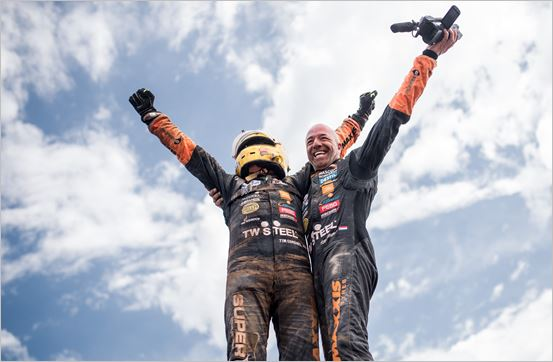 A long-time dream comes true for Tim and Tom Coronel