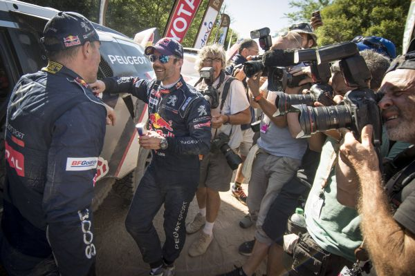 Loeb wins the last special stage, Peterhansel theDakar