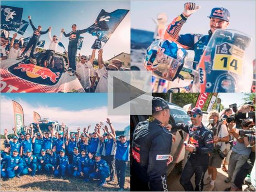 Dakar dynasties extended in emphatic fashion at chequered flag