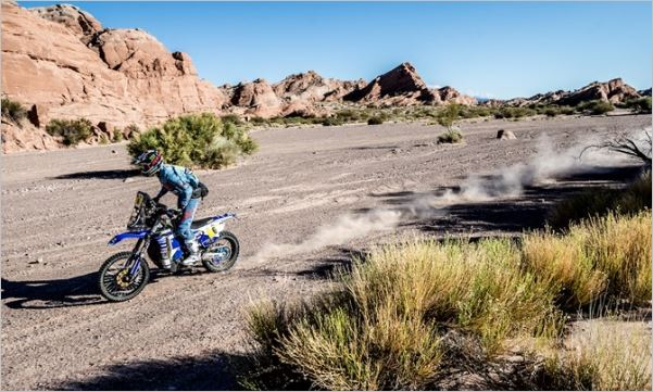 Bikes Dakar stage 12 classification