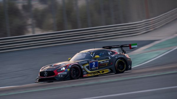 Bleekemolen puts Black Falcon Mercedes-AMG GT3 on pole for Hankook 24H DUBAI