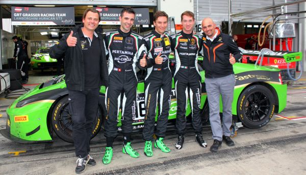 GRT Grasser Racing Team at 24 Hours of Dubai