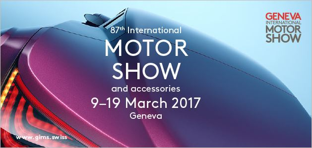 Offer a ticket to the Geneva Motor Show 2017