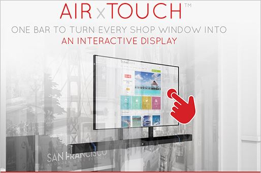 "AIRxTOUCH™ BARA -  unique patented technology ""made in Luxembourg"""