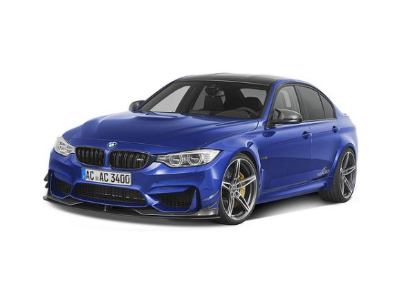 M3 by AC Schnitzer is the fastest Saloon on the Sachsenring