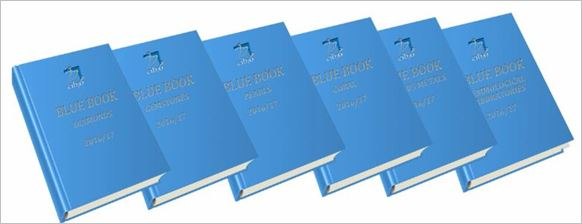 Updated editions of all Blue Books of standards and nomenclature