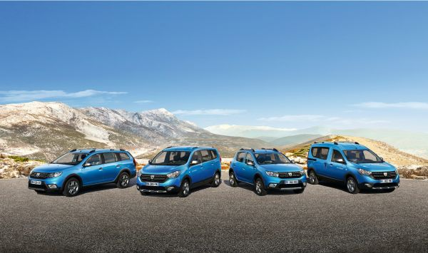 The Stepway family welcomes the new Dacia Logan MCV Stepway