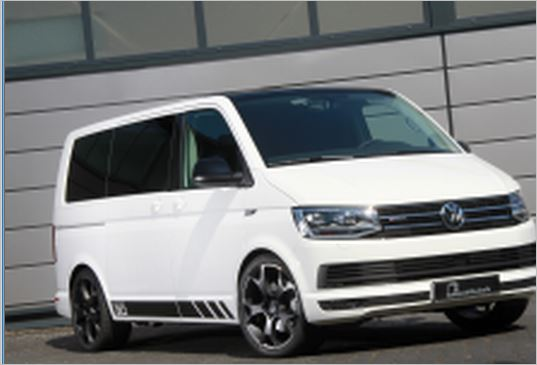 Power bus B&B style: 275 hp and 560 Nm for the VW T6 2.0 BiTDI