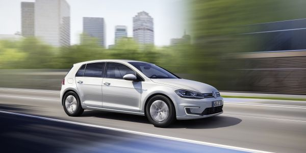 The new e-Golf1 can now be ordered