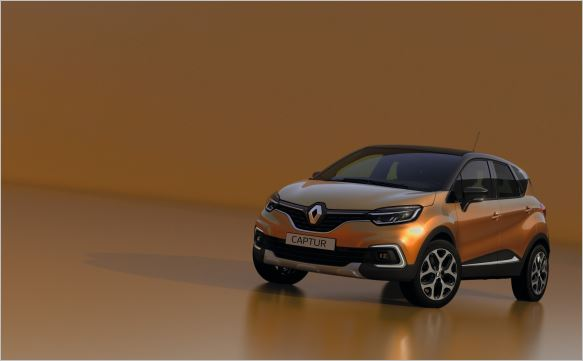 New Renault Captur, with extra allure