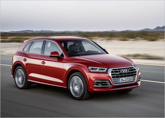 New Audi Q5 an impressive performer in the Euro NCAP