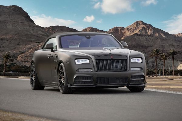 MANSORY-Refinement programme for the Rolls-Royce Dawn.