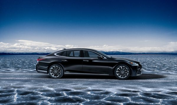 World premiere of the all new Lexus LS 500h