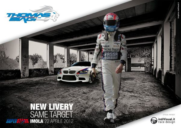 New livery for Thomas Biagi's BMW in Imola