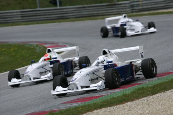 Drivers in the 2012 Formula BMW Talent Cup
