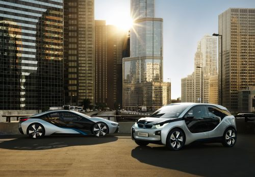 Exceptional BMW I3 Concept And BMW I8 Concept.
