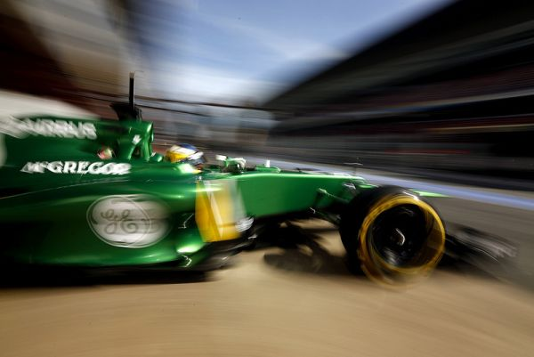 Caterham F1 Team Barcelona day 4