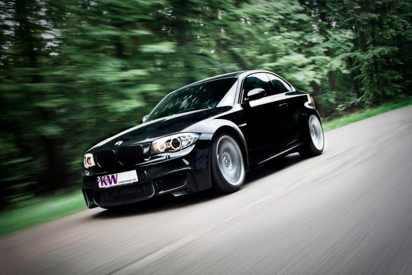 neu f r bmw 1m coup adaptives kw fahrwerk mit iphone steuerung. Black Bedroom Furniture Sets. Home Design Ideas