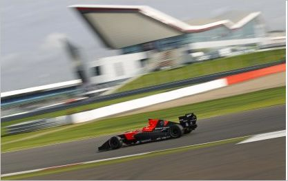 Jules Bianchi fastest in Silverstone testing