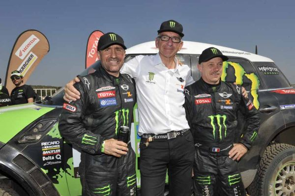 MINI ALL4 Racing the car for winners – Monster Energy X-raid Team successfully defends Dakar title