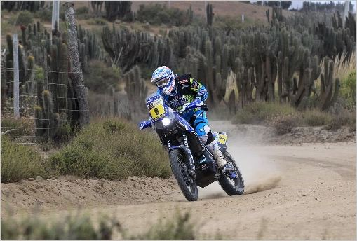 Double Bike Top Ten and Quad Victory for Yamaha in 2013 Dakar