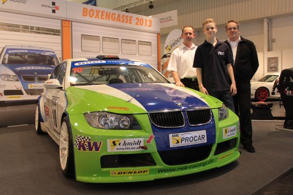 Germany´s youngest touring car driver competes for RSK Motorsport in 2013