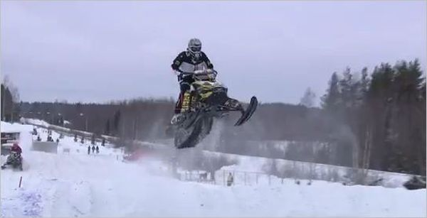 Video from FIM Snowcross World Championship 2013 in Tuuri