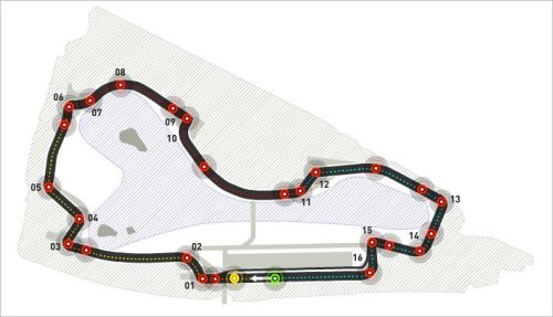 General Race Information on Melbourne F1 race 2013