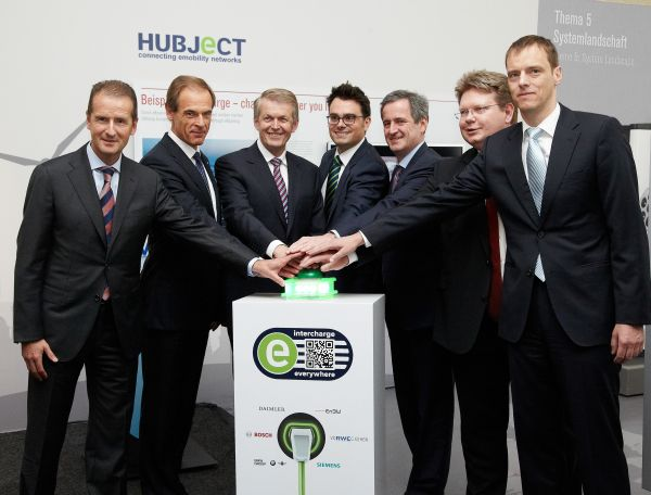 intercharge enables Europe-wide charging of electric vehicles