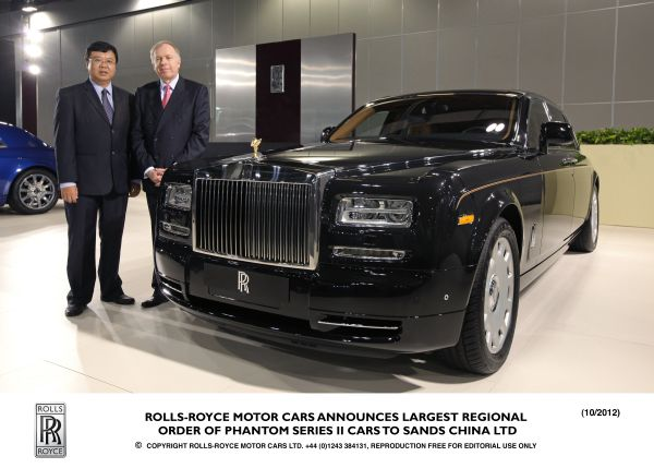 Rolls Royce Announces Largest Regional Order Of Phantom