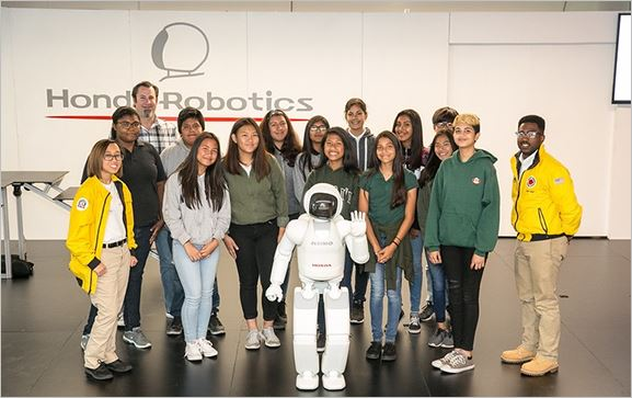 ASIMO Humanoid Robot Inspires Students to Become Tech Innovators