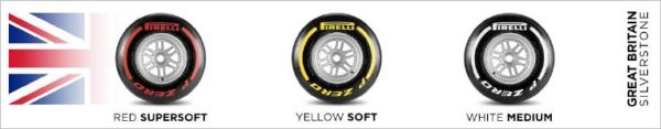 Pirelli announces compounds for British Grand-Prix