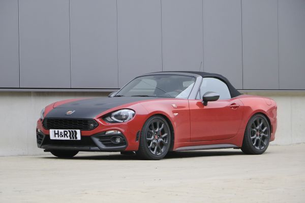 H&R coil over for the Abarth 124 Spider