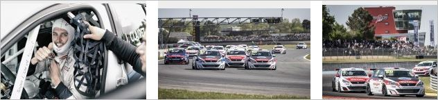 An exciting start to the new Peugeot 308 Racing Cup at Nogaro