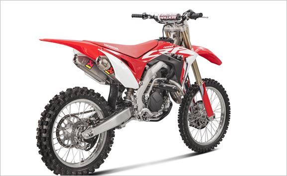 Akrapovic gives the Honda CRF450R three of the best