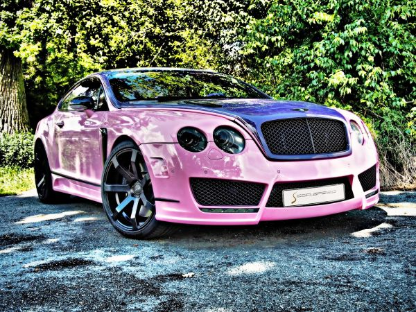 Bentley Continental GT with Cor.Speed Challenge wheels