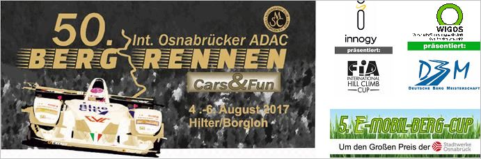 Osnabrück Hill Race:  Drivers' parade to mark the anniversary race