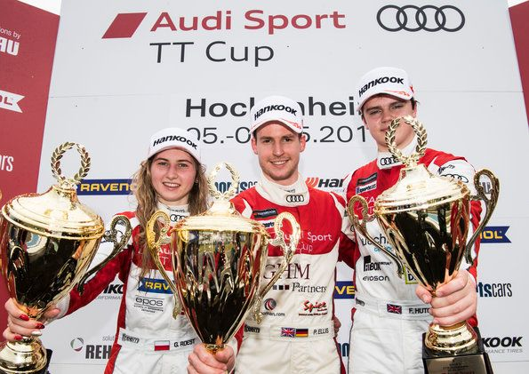 Two wins for Philip Ellis in the Audi Sport TT Cup