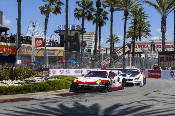 Porsche Long Beach >> Second Podium For The New Porsche 911 Rsr In Long Beach
